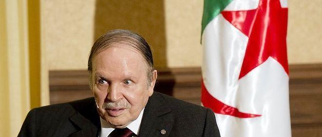 Le président algérien Abdelaziz Bouteflika, Photo d'illustration.