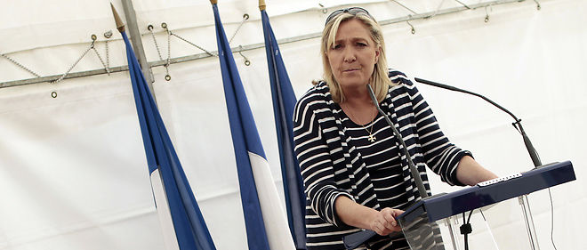 Marine Le Pen, photo d'illustration.