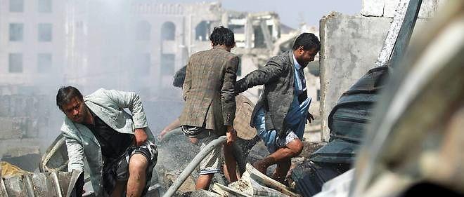 Les bombardements se poursuivent sur la capitale Sanaa, alors que la coalition prépare une offensive terrestre.