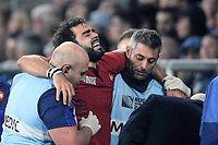 Tour d'horizon en quelques chiffres des blessures spécifiques du rugby. ©FRANCK FIFE