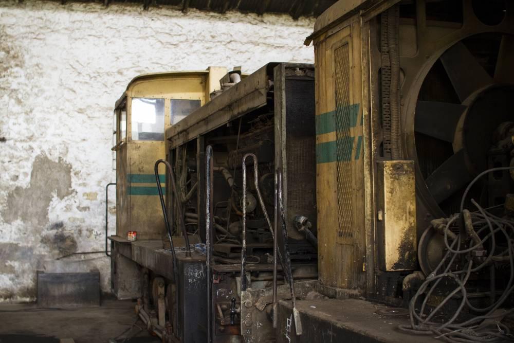 Des wagons au dépôt. ©  Antoine Galindo