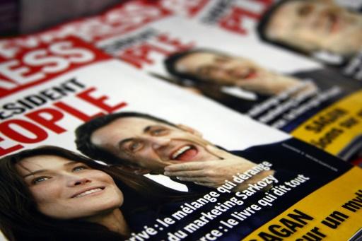 Une couverture de L'Express, dans un kiosque à journaux, le 11 janvier 2008 à Paris © Joël SAGET AFP/Archives