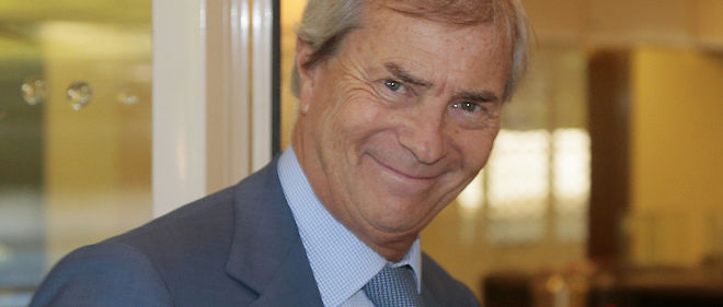 Vincent Bollore, photo d'illustration.