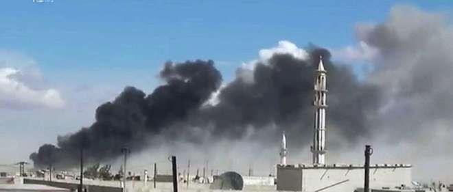 L'aviation russe avait mené mercredi ses premières frappes aériennes dans ce pays à la demande du président Assad.