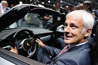 Aux manettes depuis dix jours, Matthias Müller, le nouveau patron de Volkswagen, a prévenu ses salariés que les futures semaines seront difficiles.
