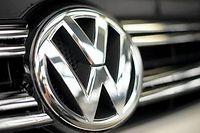 Le logo Volkswagen, photo d'illustration. ©Jochen Lübke