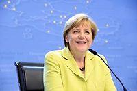 La chancelière allemande figure parmi les 276 nominés pour le prix Nobel de la paix. ©THIERRY CHARLIER