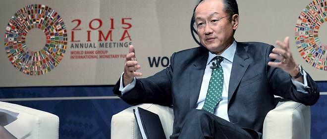 Jim Yong Kim, le patron de la Banque mondiale, le 7 octobre 2015 à Lima, au Pérou.
