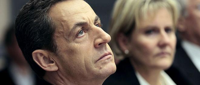 Nicolas Sarkozy et Nadine Morano en janvier 2012. Image d'illustration.