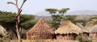 Village du sud de l'Éthiopie où j'ai rencontré Satu.