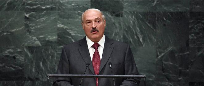 Alexandre Loukachenko à la tribune de l'ONU, en septembre 2015. Image d'illustration.