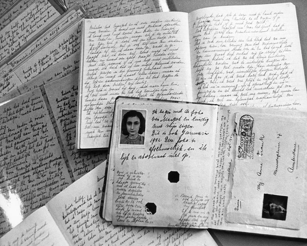 ANNE FRANK © Fonds Anne Frank AFP