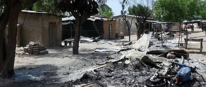 Le résultat de l'explosion d'une bombe de Boko Haram dans le village de Zabarmari, près de Maiduguri le 4 juillet 2015. (Image d'illsutration)