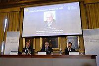 Le prix Nobel d'économie a été attribué à l'Écossais Angus Deaton. ©JONATHAN NACKSTRAND