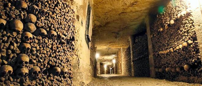 Les catacombes de Paris sont ouvertes au public.