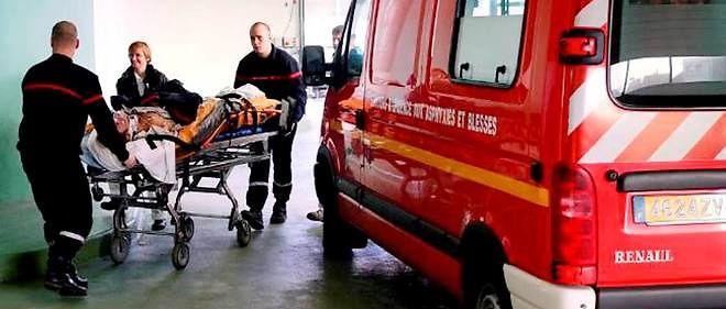 Un camion de pompiers, photo d'illustration.