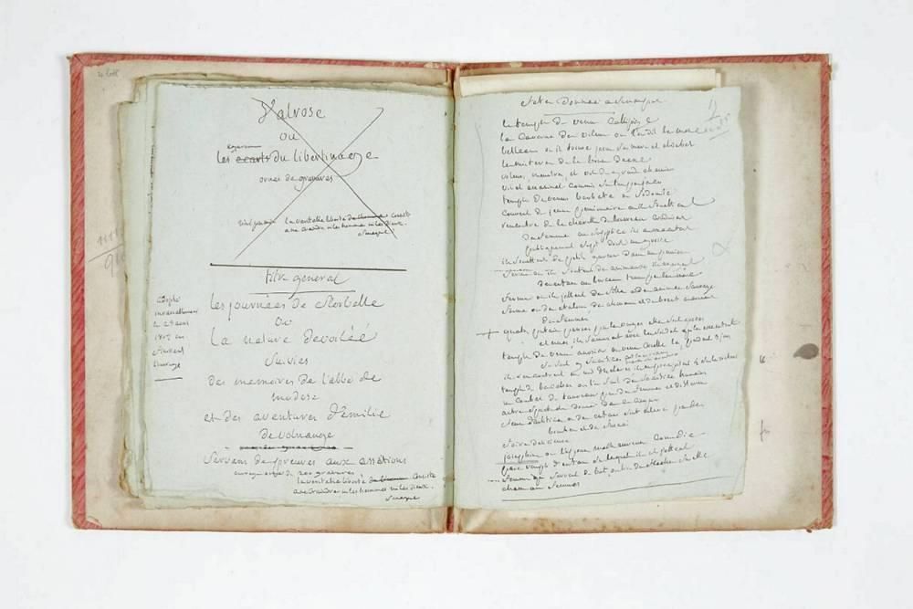 Marquis de Sade © STEPHANE BRIOLANT PBA