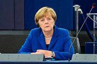 La chancelière allemande Angela Merkel est en chute dans les sondages. ©CITIZENSIDE/CLAUDE  TRUONG-NGOC
