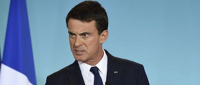 Manuel Valls à Matignon le 2 octobre dernier.