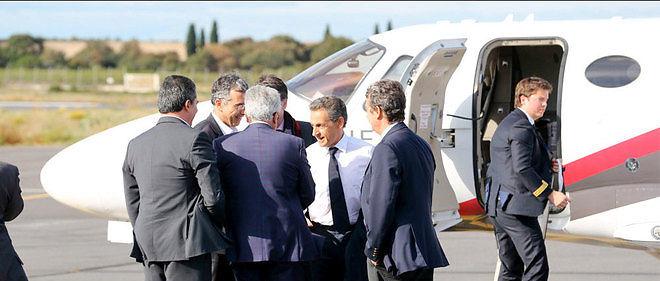 Nicolas Sarkozy à Béziers le 8 octobre 2015.
