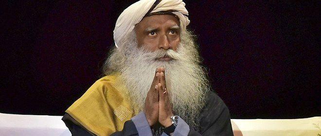 À 58 ans, Sadhguru fait partie des 50 personnes les plus influentes en Inde et est un guide spirituel comptant des millions d'adeptes à travers le monde.