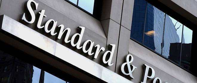 La devanture de Standard & Poor's à New York le 16 octobre 2015.