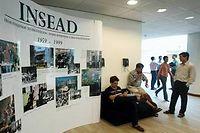 L'Insead, à Fontainebleau et Singapour, figure deux fois dans le classement du FT. Son EMBA délivré avec l'université Tsinghuaétant le meilleur programme selon le quotidien. ©ROSLAN RAHMAN