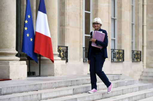 Laurence Tubiana,  l'ambassadrice pour la France chargée des négociations pour le climat, le 25 août 2015, à Paris © Miguel Medina AFP/Archives