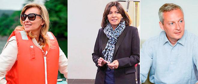 Valérie Trierweiler, Anne Hidalgo, Bruno Le Maire