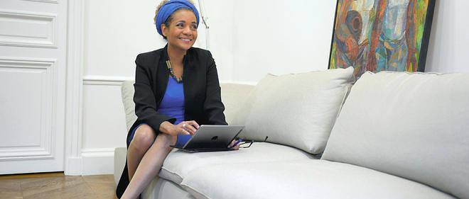 15 octobre 2015 : Michaëlle Jean, secrétaire générale de la Francophonie, dans son bureau à Paris.