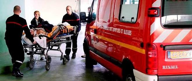 Intervention des sapeurs-pompiers.