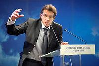 L'avocat Valéry Le Douguet, considéré comme le « Monsieur Justice » du FN, est un proche de longue date de la famille Le Pen. ©LIONEL BONAVENTURE