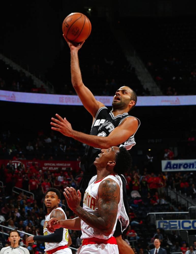 San Antonio Spurs v Atlanta Hawks © Kevin C. Cox Getty Images/AFP