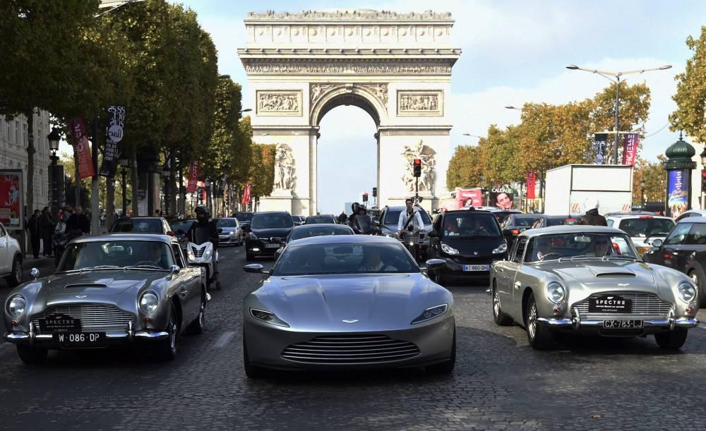 FRANCE-CARS-JAMES-BOND © ALAIN JOCARD AFP