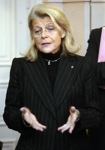 Marie-Christine Chaubert-Polderman, l'une des actionnaires majoritaires de Fram le 3 décembre 2006 à Toulouse © Pascal Pavani AFP/Archives