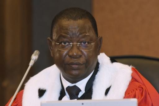 Le Burkinabè Gberdao Gustave Kamo, président du tribunal, le 20 juillet 2015, à Dakar © Seyllou AFP/Archives