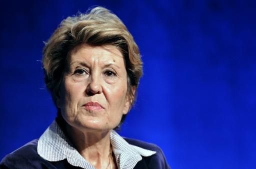 La Secrétaire d'Etat chargée du développement et à la Francophonie, Brigitte Girardin, le 4 décembre 2010, à Paris © Bertrand Guay AFP/Archives
