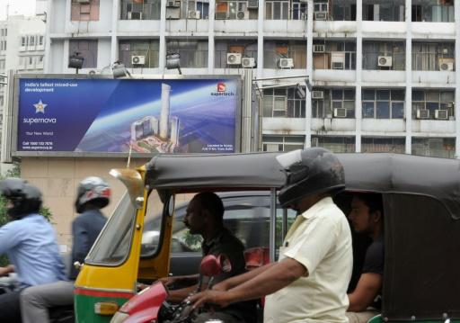 New Delhi en août 2012 © Roberto Schmidt AFP/Archives