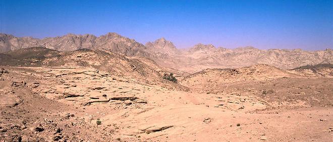 Eurocontrol refusait les plans de vol survolant le Sinaï (photo).