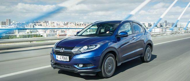 Avec Le HR V Honda Fait Son Grand Retour Sur Segment Des SUV