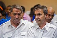 Pascal Fauret (à gauche) et Bruno Odos, les deux pilotes dans l'affaire Air Cocaïne. ©ERIKA SANTELICES