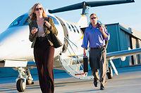 Ces derniers mois, une multitude d'initiatives ont fleuri pour rendre le jet plus accessible. ©ImageSource/REA