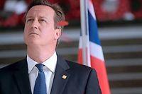 En janvier 2013, le Premier ministre David Cameron coupe l'herbe sous le pied des eurosceptiques en promettant la tenue d'un référendum sur le maintien dans l'Union avant décembre 2017. ©DIDIER LEBRUN