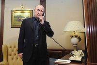 Le sort de Bachar en Syrie dépend en grande partie du soutien que lui apporte Vladimir Poutine. ©ALEXEY DRUZHININ
