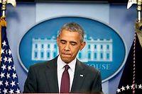 Le président américain Barack Obama (illustration). ©MARK WILSON