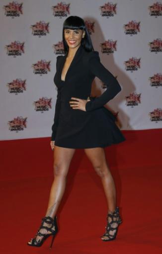 La chanteuse Shy'M, le 7 novembre 2015 à Cannes © VALERY HACHE AFP