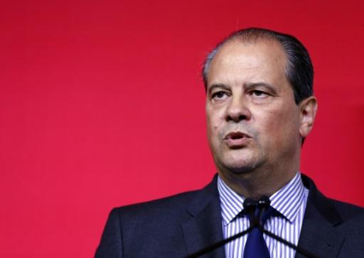 Jean-Christophe Cambadelis, premier sécrétaire du PS, le 18 octobre 2015, à Paris © Francois Guillot AFP/Archives