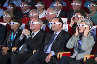 Le 12 novembre 2014, Najat Vallaud-Belkacem, ministre de l'Éducation nationale, Jean-Yves Le Gall, président du Cnes, le président Francois Hollande et l'ex-astronaute et ministre Claudie Haigneré assistent à l'atterrissage de Philae sur la comète 67/P Churyumov-Gerasimenko, dite Tchouri. ©JACQUES BRINON