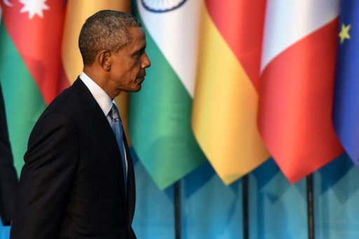 Barack Obama au sommet du G20 à Antalya le 15 novembre 2015 © OZAN KOSE AFP