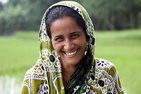 Nipa, son mari et ses deux enfants habitent au Bangladesh, dans le delta du Gange.